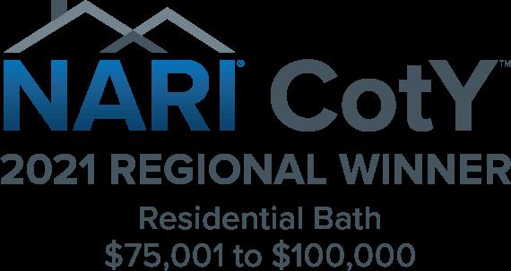 NARI CotY Award 2021  Residential Winner Bathroom