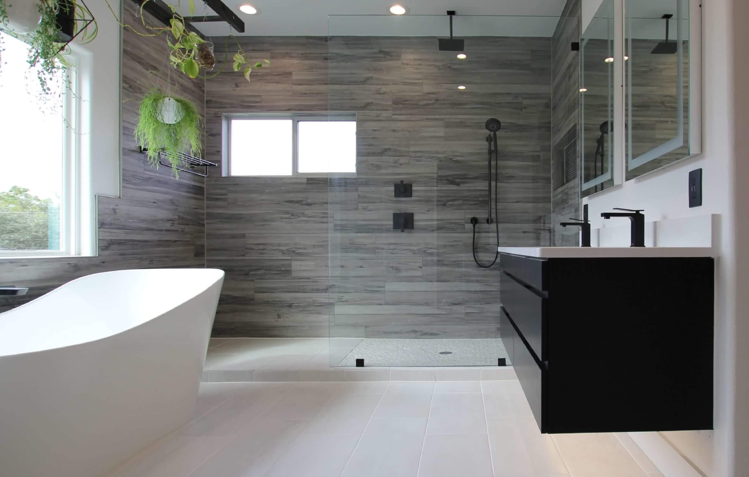 NARI CotY award winning design-build bathroom remodel
